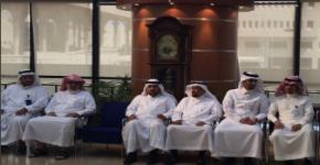 عمادة شؤون المكتبات تقييم حفل المعايدة بمناسبة عيد الآضحى المبارك