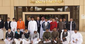 زيارة وفد من عدد من طلاب مدراس التربية النموذجية لكلية العمارة والتخطيط