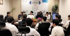 لقاءان مع خبراء لطلبة الجامعة المتفوقين والمتفوقات