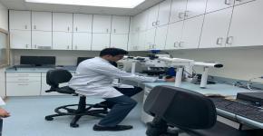 الطالبات المتفوقات يزرن مركز الملك فهد الوطني لأورام الأطفال