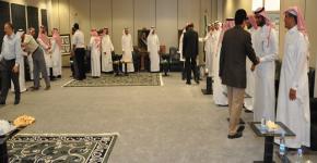 كلية العلوم الطبية التطبيقية بجامعة الملك سعود تقيم حفل معايدة لمنسوبيها