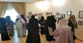 زيارة طالبات قسم إدارة موارد التراث والإرشاد السياحي لمتحف القصر