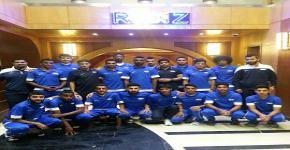 منتخب القدم  يواجه جامعة الامام في الجولة التاسعه من دوري الجامعات