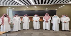 زيارة وفد من الهندسة المدنية إلى الهيئة السعودية للمقاولين