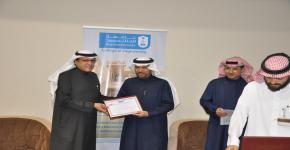 كلية الهندسة تكرم المشاركين في تنفيذ خطة الإخلاء الوهمي لمبنى كلية الهندسة