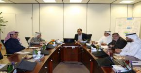 خبر زيارة سعادة الأستاذ الدكتور يوسف عسيري لكلية الهندسة