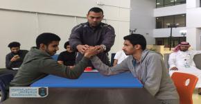 بطولة مصارعة الذراعين بالبرنامج الانتقالي للسنة الأولى المشتركة