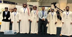 زيارة طلاب البرنامج الانتقالي لملتقى السفر والاستثمار السياحي السعودي