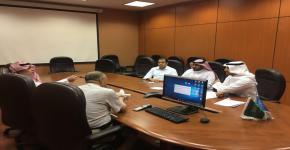 وكالة عمادة التطوير والجودة لشؤون الجودة تناقش انطلاقة العام الجديد