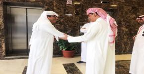 معالي مدير جامعة الملك سعود يتابع استعدادات كلية علوم الرياضة للعام الدراسي الجديد 1440/1439هـ