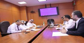 وكالة شؤون التطوير تناقش تطوير الوحدات الإدارية