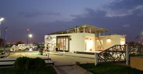 منزل الجامعة الشمسي إلى دبي