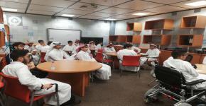 المجلس الاستشاري بعمادة السنة الأولى المشتركة يختار  اللجان العاملة