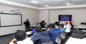 ورش عمل اللقاء العلمي الثاني لطلبة برنامج دعم أبحاث طلبة البكالوريوس