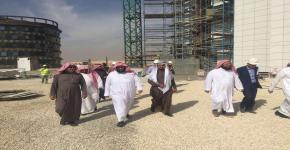 وكيل جامعة الملك سعود يستقبل معالي رئيس ديوان المظالم رئيس مجلس القضاء الإداري
