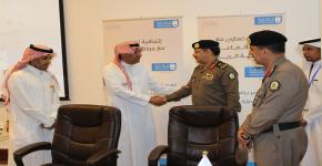 Prof. Badran bin Abdulrahman Al-Omar, Rector of King Saud University, Sponsors the Signing of Two Partnership Agreements, One with General Directorate of Prisons and the Other with Riyadh Chamber with an Eye to Moving from the Concept of Community Service