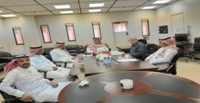 اجتماع لجنة الرحلات الحقلية