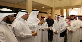 الدكتور عسيري يدشن برنامج تفعيل الخطة الاستراتيجية لكلية التربية