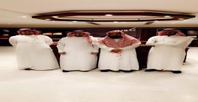 زيارة وفد من عمادة شؤون المكتبات الى مركز الملك فيصل للبحوث والدراسات الاسلامية