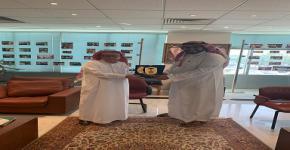 المدير التنفيذي لصندوق دعم البحث العلمي يلتقى بمدير شركة الحياة الطبية والمدير التنفيذي لشركة الرياض فارما