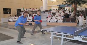 الجهني يرعى ختام نهائي بطولة التنس بين الطلاب والمنسوبين في التحضيرية