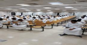 9481 طالب أدوا الاختبارات للفترة الشهرية الأولى  لـ37 مقرر