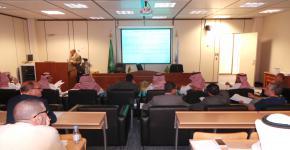 كلية اللغات تنظم ورشتي عمل حول توصيف البرنامج وتقريره السنوي