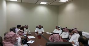 إجتماع لرؤساء أقسام صندوق الطلاب