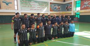 منتخب الجامعة لكرة الصالات يحقق المركز السابع  في بطولة الاتحاد الرياضي للجامعات السعودية
