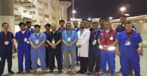 مشاركة طلاب كلية الأمير سلطان للخدمات الطبية الطارئة بموسم الحج للعام ١٤٣٧هـ