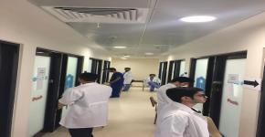 """كلية الطب بالجامعة تعقد امتحان OSCE """"بالمبنى الجديد"""""""