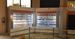 تم افتتاح مركز وجبات كلية الاداب