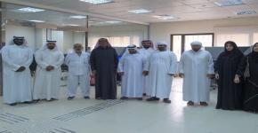 وفد المكفوفين الاماراتي يزور مركز ذوي الاعاقة