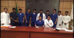 برنامج تعريفي للطلبة المستجدين بكلية العلوم الطبية التطبيقية (لبرنامج أمراض التخاطب والسمع بقسم التأهيل الصحي)
