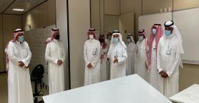 زيارة سعادة الأستاذ الدكتور وكيل الجامعة للدراسات العليا والبحث العلمي