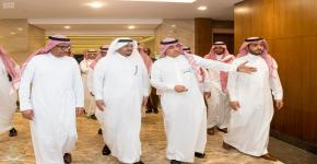 Deputy Governor of Riyadh Region Inspect University Endowment