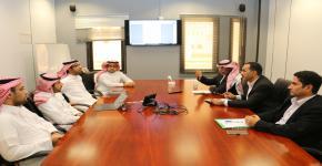اجتماع لمناقشة تحديث خطة التعاملات الالكترونية والاتصالات