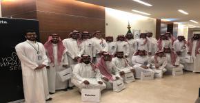 نادي المحاسبة يُنظم زيارة إلى شركة Deloitte