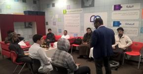 """دورة """" مهارات عرض وتقديم المشروعات """" لطلاب السنة الأولى المشتركة"""