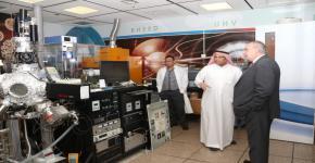 معهد الملك عبدالله لتقنية النانو يستقبل وفد جامعة سوانسي من المملكة المتحدة