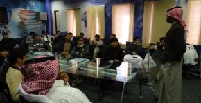 معهد النانو يستقبل طلاب ثانوية الأبناء بكلية الملك عبدالعزيز الحربية
