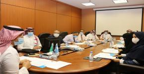 فريق رفع كفاءة الانفاق بالجامعة يعقد اجتماعه الأول