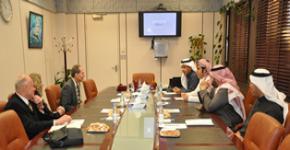 كلية العلوم الطبية التطبيقية بجامعة الملك سعود  تستضيف وفد جامعة سالوس الامريكية
