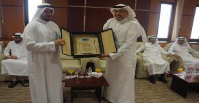 عمادة الدراسات العليا تكرم وكيلها السابق للشؤون الأكاديمية  الأستاذ الدكتور/ سليمان بن علي المورعي