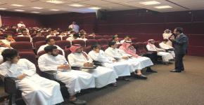 نظّم نادي المحاسبة محاضرة بعنوان التعريف بالشهادة العامة للتعامل في الأوراق المالية