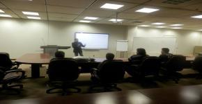 وحدة التدريب وخدمة المجتمع بالكلية تقيم دورة تدريبية