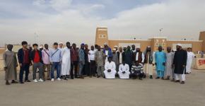 طلاب النادي الثقافي والاجتماعي بمعهد اللغويات يزورون مهرجان الجنادرية