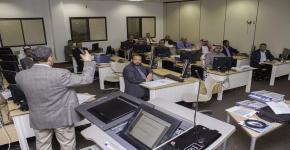التحيل الإحصائي باستخدام برنامج (spss) .. دورة تدريبية في عمادة السنة الأولى المشتركة .. ضمن فعاليات وحدة التدريب