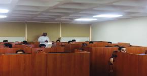 أقيمت ورشة عمل للطلاب عن البحث في مصادر المعلومات الالكترونية بكلية الامير سلطان للخدمات الطبية الطارئة