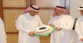 معالي مدير الجامعة يستقبل الجهات المشاركة في ماراثون الرياض الدولي 2018م